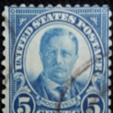 Sellos: UNITED STATES AMERICA, ROOSEVELT 5 CENT. AÑO 1927.. Lote 146153854