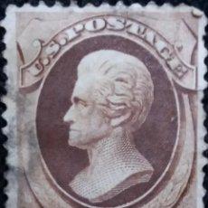 Sellos: UNITED STATES AMERICA, YACKSON 2 CENT. AÑO 1879 USADO.. Lote 146154314