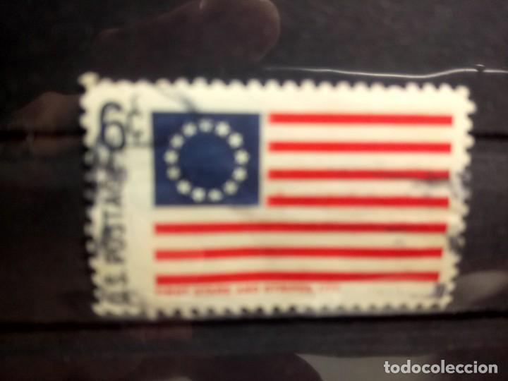 EEUU, USA 1968, BANDERAS, LA PRIMERA BANDERA 1777, YT 817 (Sellos - Extranjero - América - Estados Unidos)