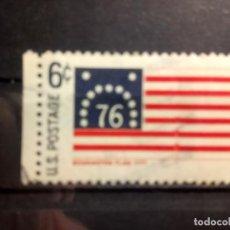 Sellos: EEUU, USA 1968, BANDERAS, BENNINGTON, YT 851. Lote 148075474