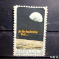 Sellos: EEUU, USA 1969, ESPACIO, APOLO VIII, YT 874. Lote 148079686
