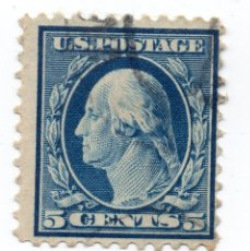 Sellos: SELLO 5 CENTS U.S.A POSTAGE 1911. Lote 148648962
