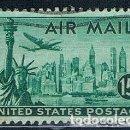 Sellos: EE.UU 1947 SELLO USADO YVES PA37. Lote 151462010