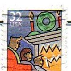Sellos: USA.- SELLOS DEL AÑO 1996, EN USADOS. Lote 152203790