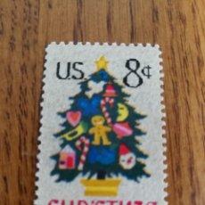 Sellos: EE.UU : NAVIDAD 1973 MNH. Lote 154297226