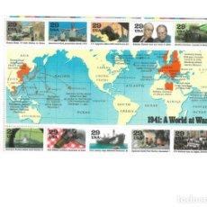Sellos: USA. 1993. IIWW. Lote 155675674