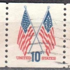 Sellos: USA-EE.UU. - TRES SELLOS - IVERT #1009A - ***1970-1974 EDICION REGULAR*** - AÑO 1972 - USADOS. Lote 156523430
