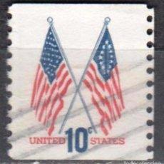 Sellos: USA-EE.UU. - UN SELLO - IVERT #1009A - ***1970-1974 EDICION REGULAR*** - AÑO 1972 - USADO. Lote 156524042