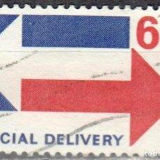 Sellos: USA-EE.UU. - UN SELLO - IVERT #E19 - ***ENVIO ESPECIAL*** - AÑO 1971 - USADO. Lote 156528250