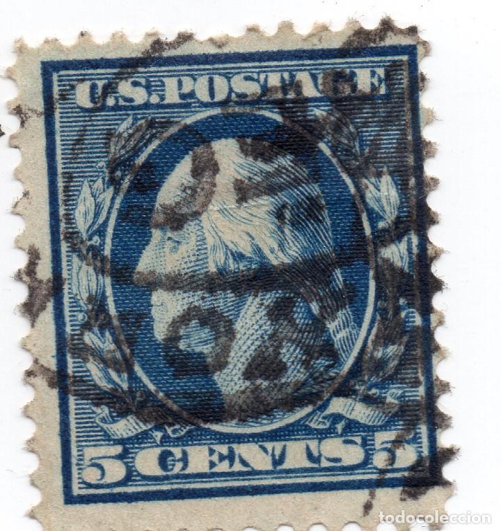 SELLO 5 CENTS U.S.A POSTAGE 1911 (Sellos - Extranjero - América - Estados Unidos)