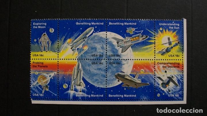ESTADOS UNIDOS-1981-Y&T 1331/8**(MNH) (Sellos - Extranjero - América - Estados Unidos)