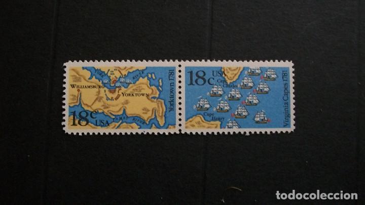 ESTADOS UNIDOS-1981-Y&T 1357/8**(MNH) (Briefmarken - Internationale - Amerika - Vereinigte Staaten)