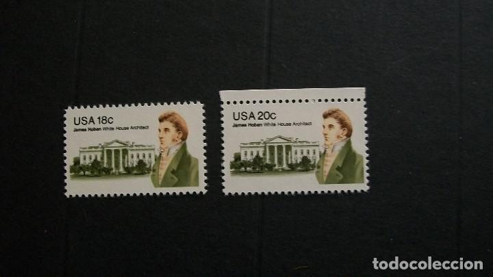ESTADOS UNIDOS-1981-Y&T 1352+1362**(MNH) (Sellos - Extranjero - América - Estados Unidos)