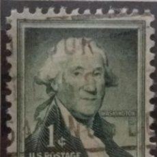 Sellos: U.S. POSTAGE, 1 CENT, WASHINGTON, AÑO 1954. Lote 159887262