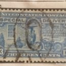 Sellos: UNITED STATES, SPECIAL DELIVERY, 13 CENTS, AÑO 1922.. Lote 160290390