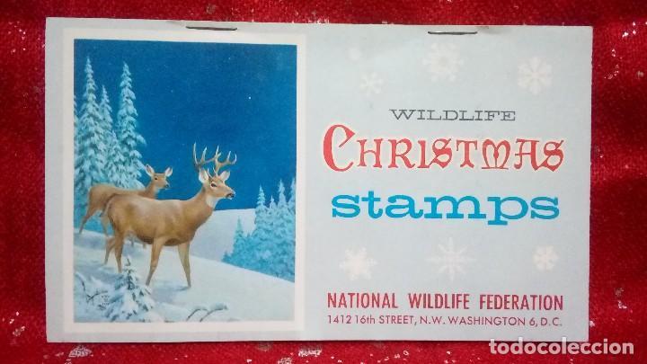 WILDLIFE CHRISTMAS STAMPS *NATIONAL WILDLIFE FEDERATION* (Sellos - Extranjero - América - Estados Unidos)