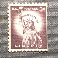 Sellos - (SE-01) SELLO USADO USA.- LIBERTY - 160733192