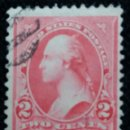 Sellos: UNITED STATES, WASHINGTON, 2 CENTS, AÑO 1894.. Lote 160868518