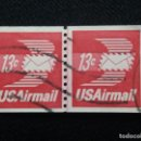 Sellos: UNITED STATES, AIR MAIL, 13 CENTS, AÑO 1973.. Lote 161495714