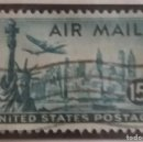 Sellos: UNITED STATES, AIR MAIL, 15 CENTS, AÑO 1949.. Lote 161495922