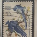 Sellos: UNITED STATES, AIR MAIL, 20 CENTS, AÑO 1964.. Lote 161496202