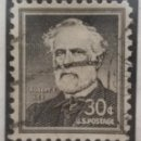 Sellos: UNITED STATES, ROBERT E LEE, 30 CENTS, AÑO 1955.. Lote 161496750