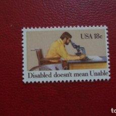 Briefmarken - ESTADOS UNIDOS-1981-Y&T 1349**(MNH) - 164833478