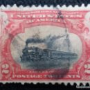 Sellos: U.S. POSTAGE, 2 CENTS, TRAINS RAOLROADS, AÑO 1901.. Lote 164855626