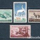 Sellos: ESTADOS UNIDOS,VIDA SALVAJE,1956-1957,NUEVO,MNH**,YVERT 611-612B. Lote 165265038