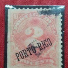 Sellos: U.S. PUERTO RICO, 2 CENTS, AÑO 1889. SOBREESCRITO.. Lote 165390926