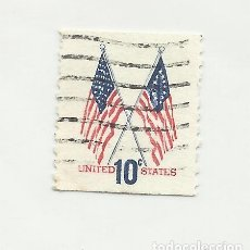 Sellos: SELLO UNITED STATES OF AMERICA. STAR FLAGS 10 C.. Lote 165800658