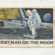 Sellos: SELLO UNITED STATES STAMP FIRST MAN ON THE MOON 10 C.. Lote 165800802