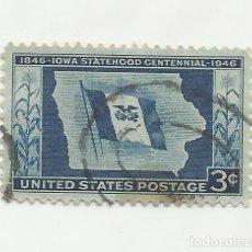Sellos: SELLO UNITED STATES STAMP. IOWA STATHOOD CENTENNIAL 1846-1946 3 CENT.. Lote 165802818