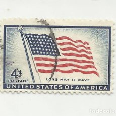 Sellos: SELLO UNITED STATES STAMP LONG MAY IT WAVE. 4 CENT.. Lote 165803490