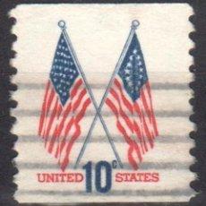 Sellos: USA / ESTADOS UNIDOS - 1 SELLO - IT:1009 - EDICION BASICA (1970-1974) - USADO. Lote 167095036