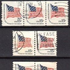 Sellos: USA / ESTADOS UNIDOS - 7 SELLOS - IT:1204A - ASUNTO AMERICANO (AÑO 1978) - USADOS. Lote 167095340