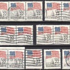 Sellos: USA / ESTADOS UNIDOS - 16 SELLOS - IT:1577 - EDICION REGULAR (AÑO 1985) - USADOS. Lote 167099912