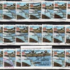 Sellos: USA / ESTADOS UNIDOS - 25 SELLOS - IT:PA109 - PIONEROS DE LA AVIACION (AÑO 1985) - USADOS. Lote 167100960