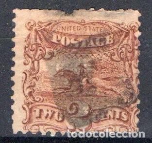 ESTADOS UNIDOS, 1869, YVERT 30, USADO, VALOR CATALOGO 70 EUROS (Sellos - Extranjero - América - Estados Unidos)