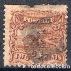 Sellos: ESTADOS UNIDOS, 1869, YVERT 30, USADO, VALOR CATALOGO 70 EUROS. Lote 168725528