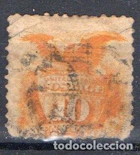 ESTADOS UNIDOS, 1869, YVERT 33, USADO, VALOR CATALOGO 150 EUROS (Sellos - Extranjero - América - Estados Unidos)