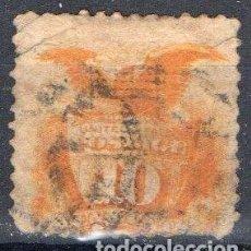 Sellos: ESTADOS UNIDOS, 1869, YVERT 33, USADO, VALOR CATALOGO 150 EUROS. Lote 168725692