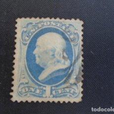 Francobolli: USA EEUU ESTADOS UNIDOS 1870-82 YVERT Nº 50. Lote 168926940