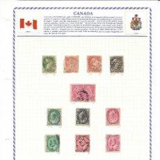 Sellos: ESTADOS UNIDOS, CANADÁ Y NACIONES UNIDAS. Lote 171334798