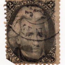 Sellos: SELLO 2 CENT ANDREW JACKSON, 1867. Lote 176583249