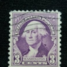 Sellos: U.S. POSTAGE, 3 CENTS, WASHINGTON, 12 PERFOR, 1932, SIN USAR. Lote 177068028