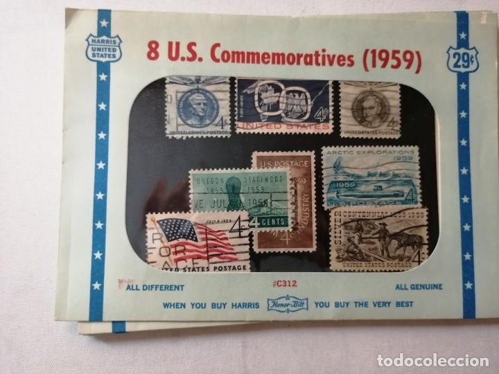 Sellos: SELLOS U.S.COMMEMORATIVES. VARIOS AÑOS. - Foto 6 - 177841524