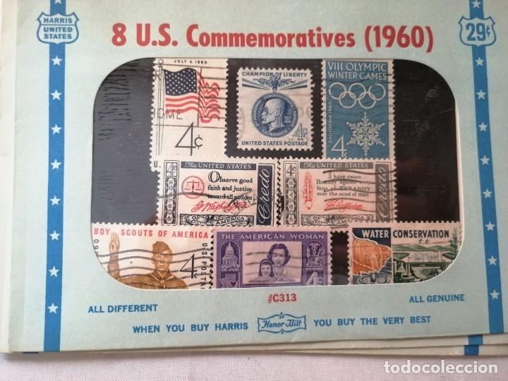 Sellos: SELLOS U.S.COMMEMORATIVES. VARIOS AÑOS. - Foto 9 - 177841524