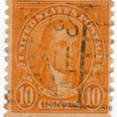 Sellos: SELLO 10 CENTS 1923 JAMES MONROE. Lote 179059003