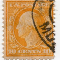 Sellos: SELLO 10 CENTS 1911 GEORGE WASHINGTON. Lote 179203913
